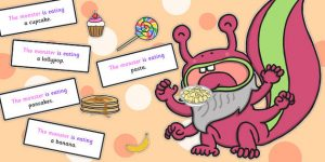 T-S-1661-Feed-The-Monster-Sentence-Activity