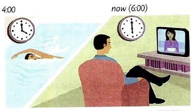 زمان گذشته استمراری در انگلیسی