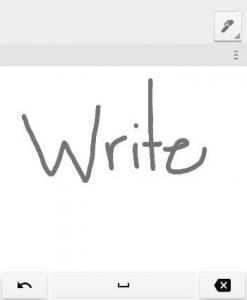 آیکن دست نویس